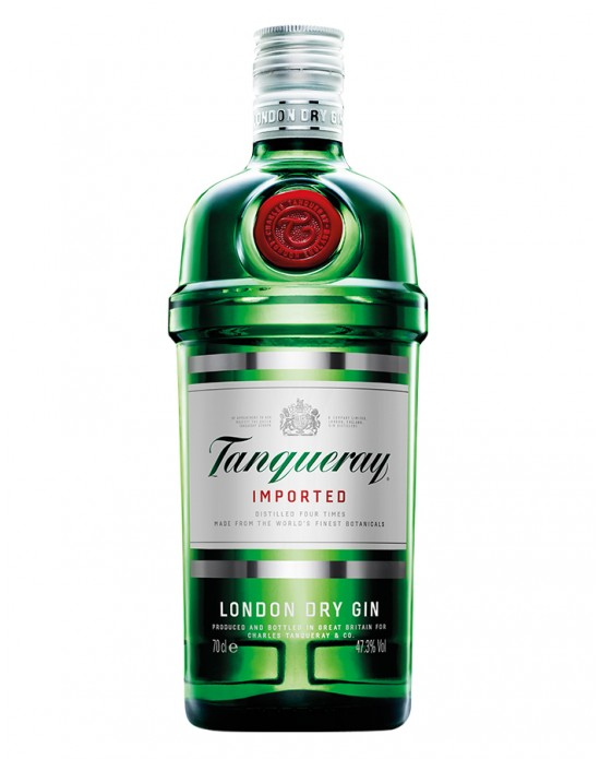 Ginebra Tanqueray London Dry - 750 ml