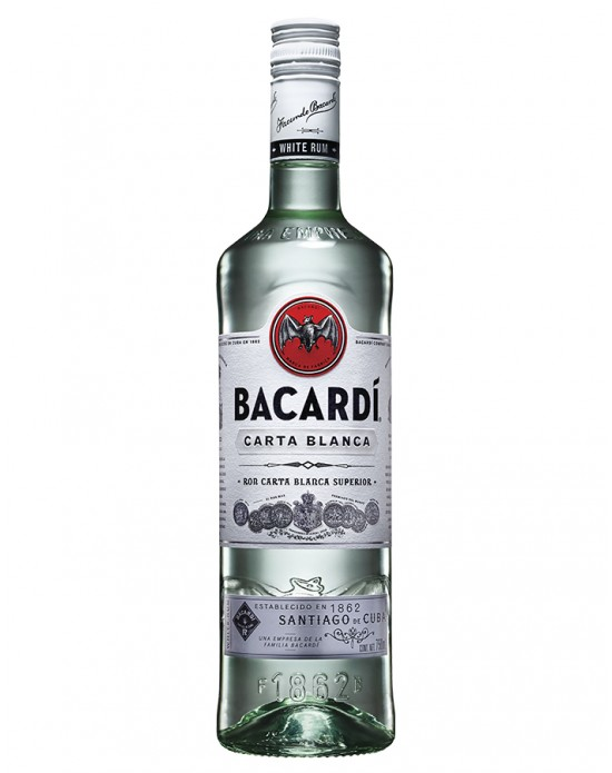 Ron Bacardi Blanco - 750 ml
