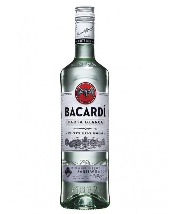 Ron Bacardi Blanco - 750 ml