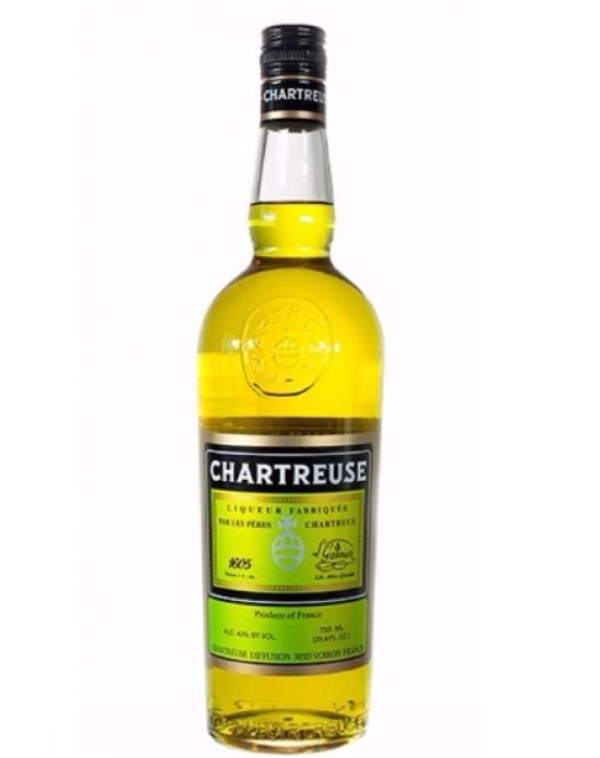 Licor Chartreuse Amarillo - 700 ml