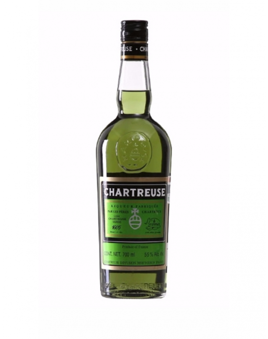 Licor Chartreuse Verde - 700 ml
