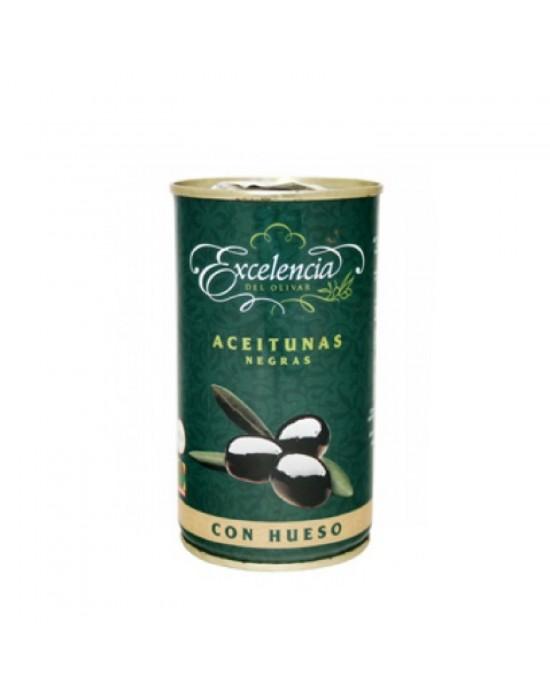 Aceitunas Negras con Hueso Excelencia - 350 g