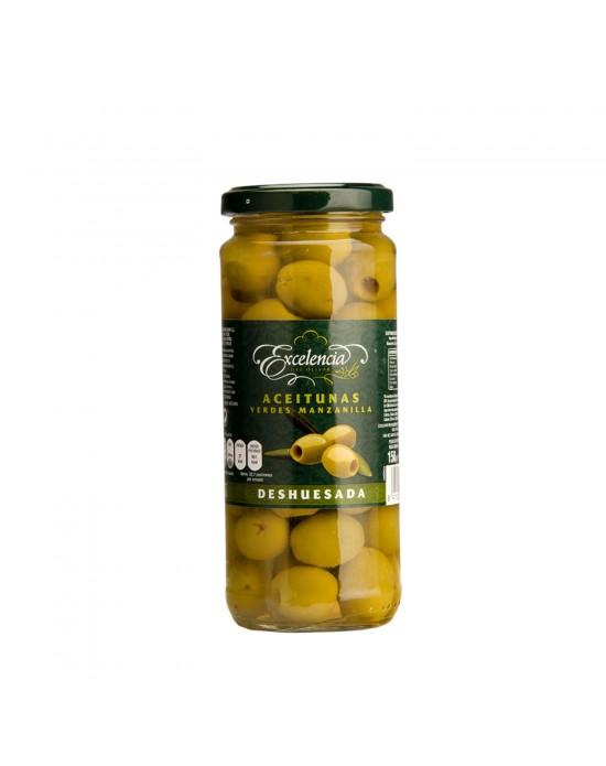Aceitunas Verdes Manzanilla Deshuesadas Excelencia - 340 g