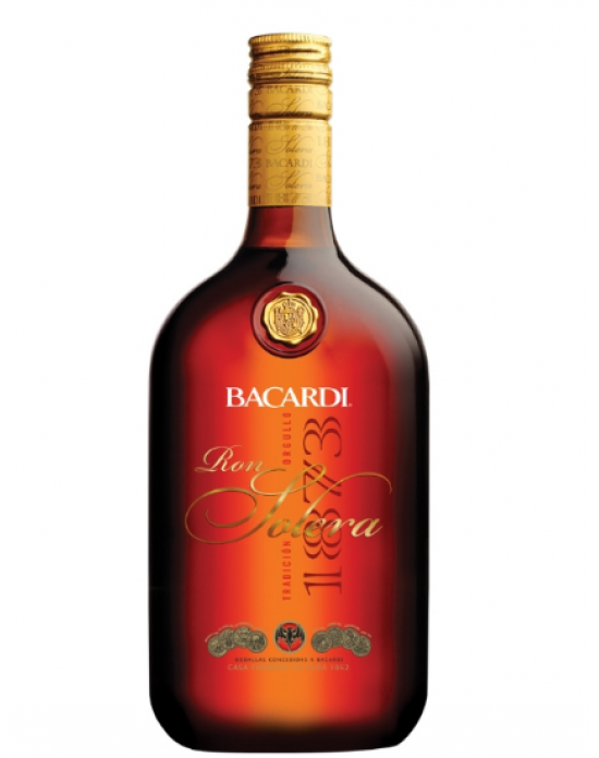 Ron Bacardí Solera -1000 ml