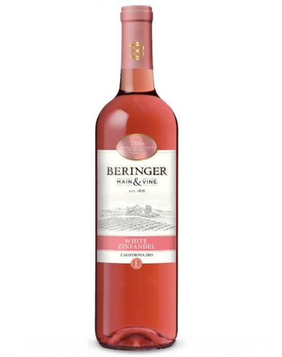 Vino rosado Beringer white zinfandel 750 ml