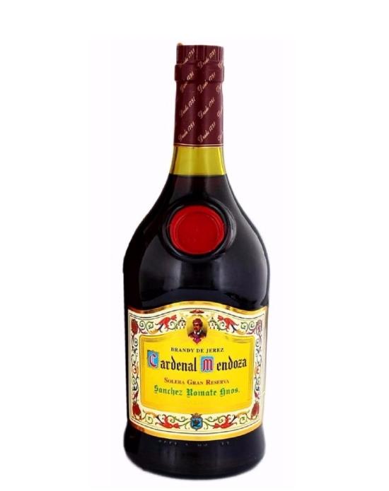 Brandy Cardenal Mendoza Gran Reserva - 700 ml