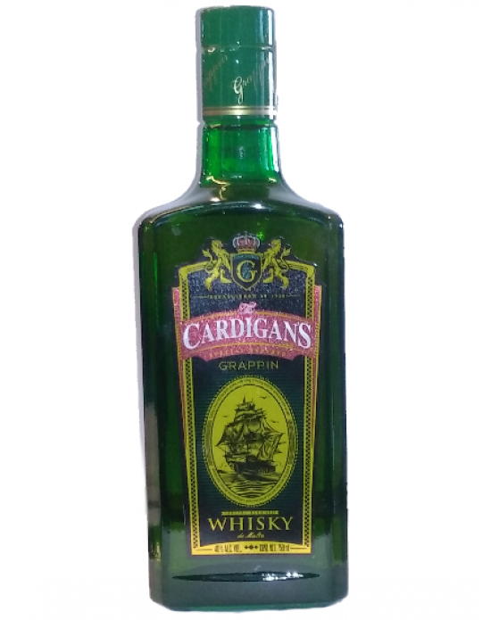 Whisky The Cardigan´s Grappin - 750 ml
