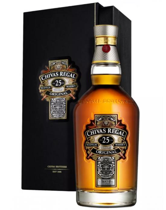 Whisky Chivas Regal 25 años - 700 ml