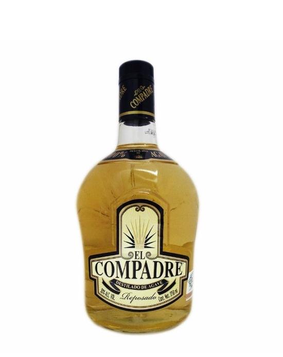 Destilado de Agave el compadre reposado 1750 ml