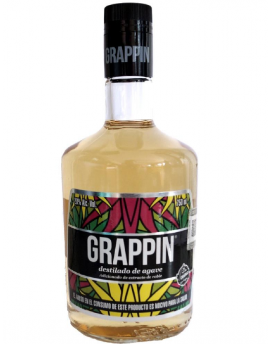 Destilado de Agave Grappin 750 ml
