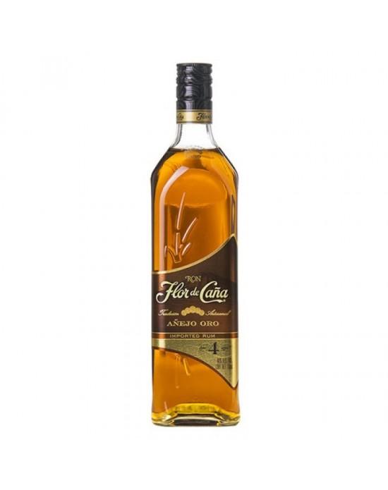 FLOR DE CAÑA GOLD ORO 4 AÑOS 1000 ml