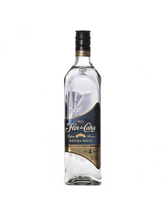 FLOR DE CAÑA BLANCO EXTRA DRY 4 AÑOS 750 ml