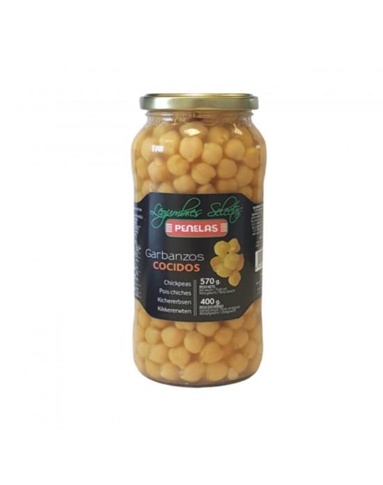 Garbanzo cocido Penelas 570g