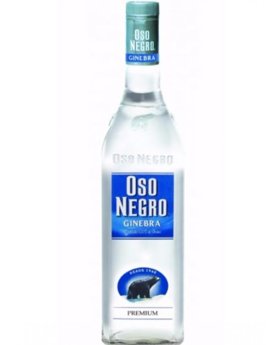 Ginebra Oso Negro Premium - 1000 ml