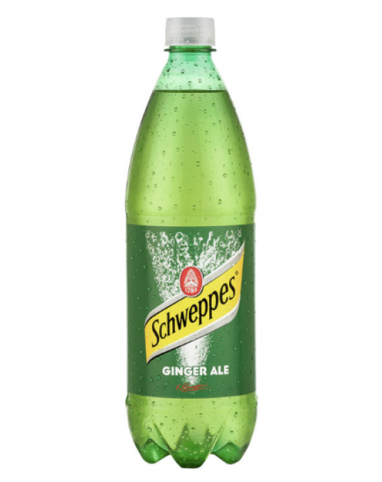 Mezclador Schweppes Ginger Ale 600ml