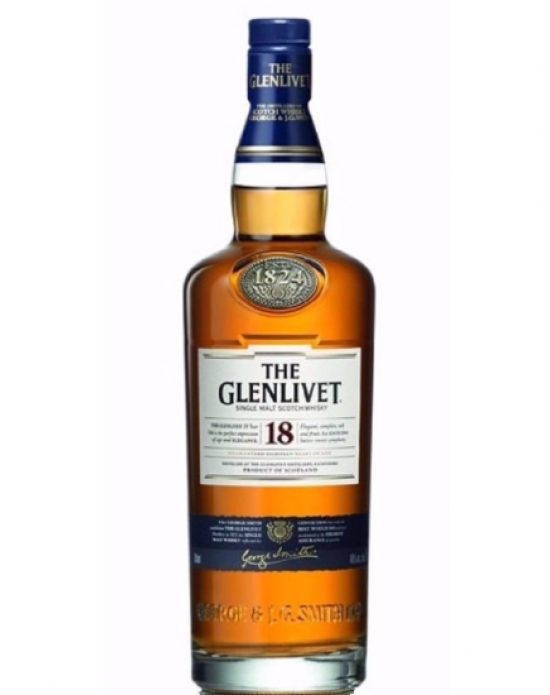 Whisky The Glenlivet 18 Años - 750 ml