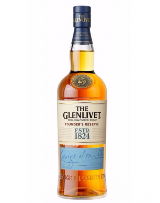 Whisky Glenlivet Founder's Reserve - 750 ml