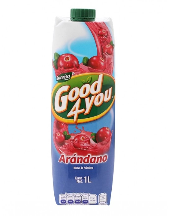 Néctar Good 4 You Arándano 1Lt