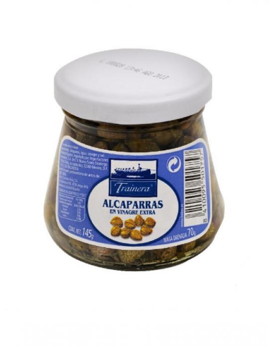 Alcaparras en vinagre 145 g / Bogador