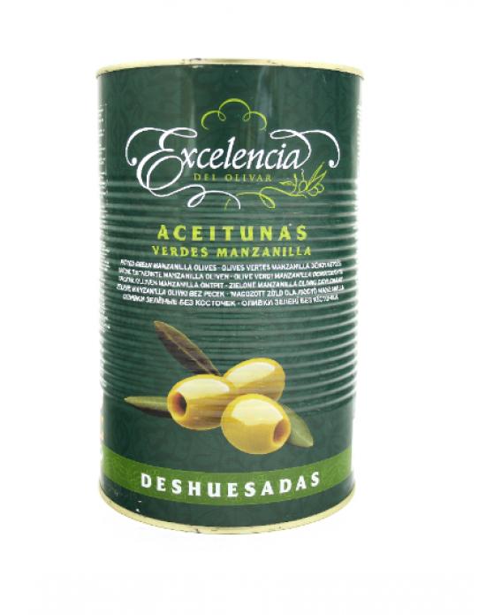 ACEITUNAS VERDE EXCELENCIA SIN HUESO 340 GR