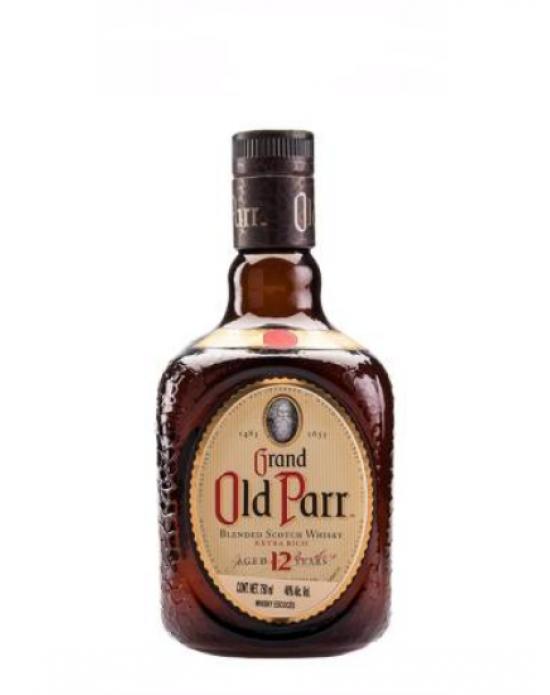Whisky Grand Old Parr escocés 750 ml