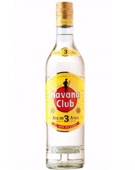 Ron Havana Club 3 años Añejo - 750 ml