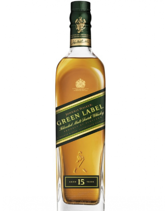 Whisky Johnnie Walker Green Label 15 Años - 700 ml