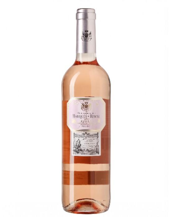 Vino rosado Marqués de Riscal Rioja - 750 ml