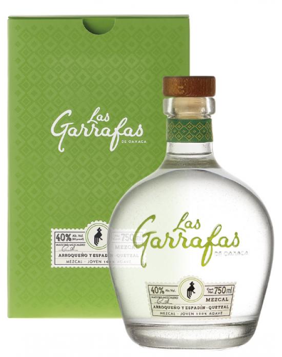 Mezcal Las Garrafas Quetzal Joven- 750 ml