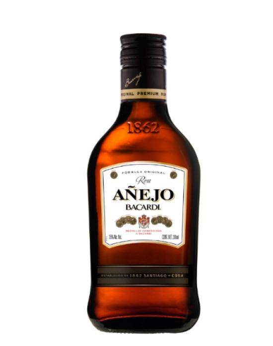 Ron Bacardi Añejo - 200 ml