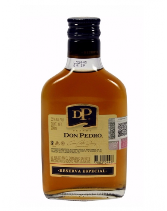 Brandy Don Pedro Reserva Especial - 200 ml