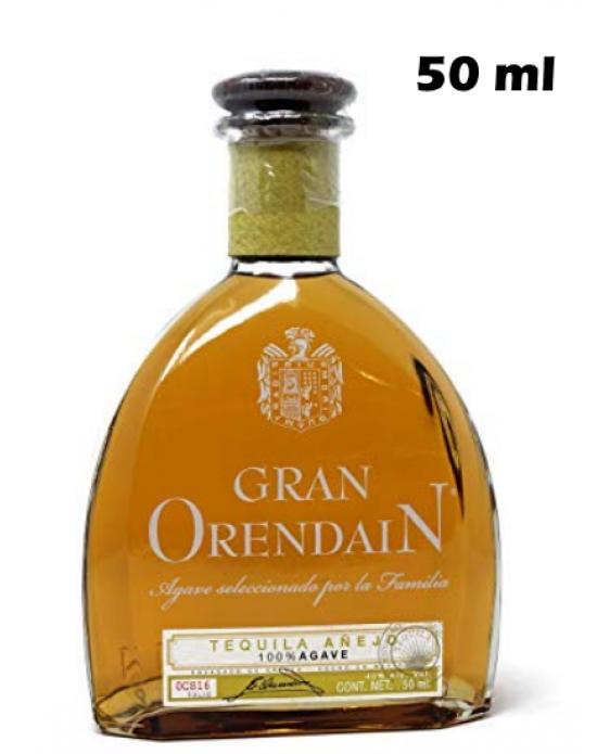 Gran Orendain Tequila Añejo 50ml. Miniatura