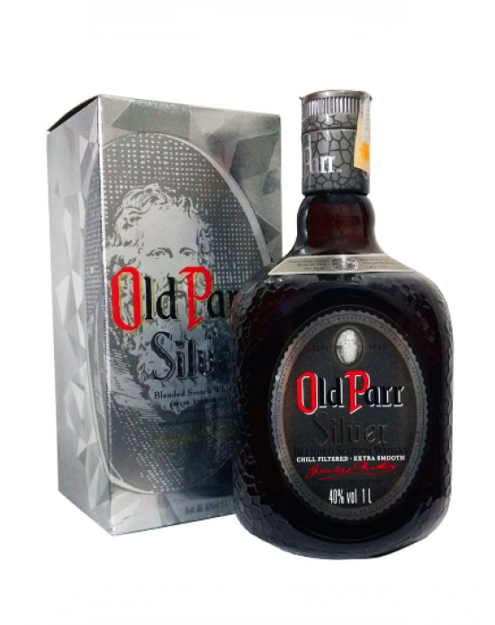 Whisky Old Parr Silver 750 ml.