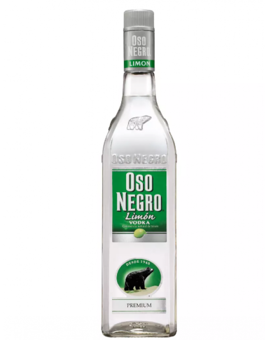 Vodka Oso Negro Limon 1000 ml