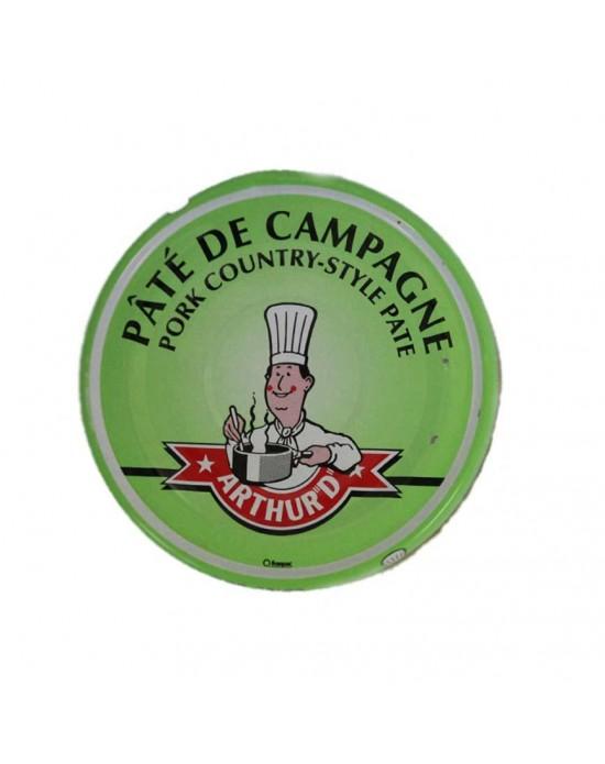 """PATÉ DE CERDO CAMPAGNE ARTHUR """"D"""" 77 g"""