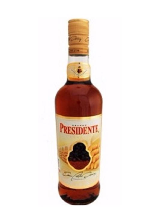 Brandy Presidente Clasico - 1000 ml