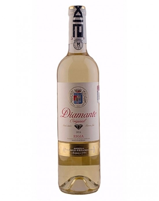 Vino Blanco Diamante Semi - Dulce Cosecha - 750 ml