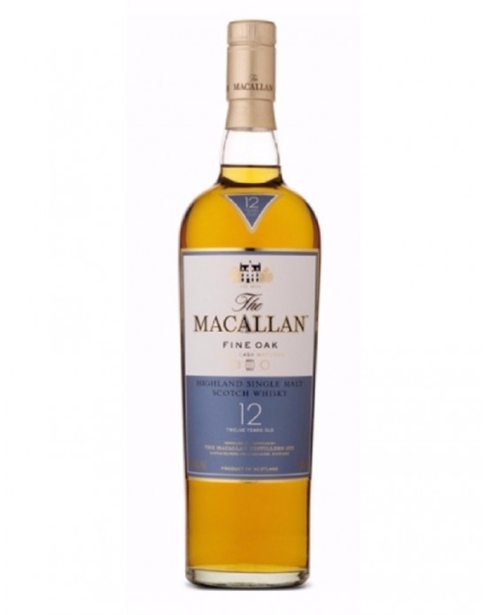 Whisky Macallan 12 Años Single Malt - 700 ml