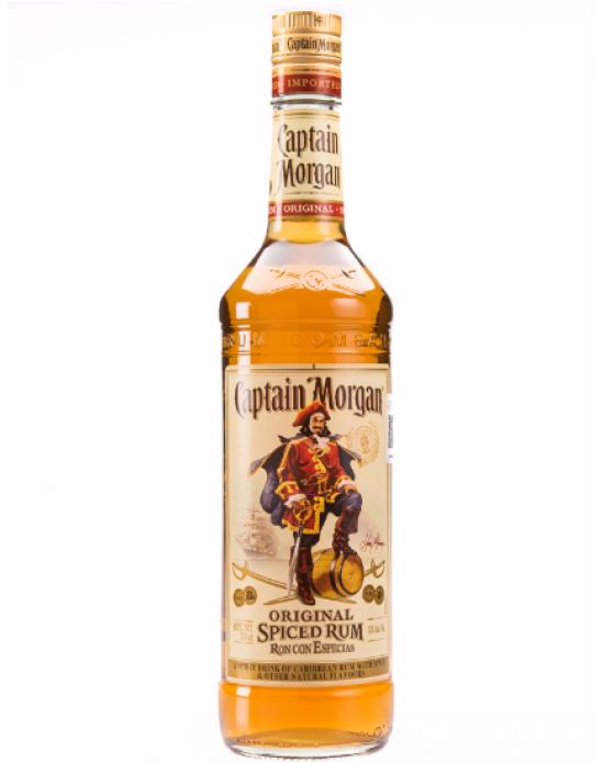 Ron Captain Morgan Spiced Original - 750 ml