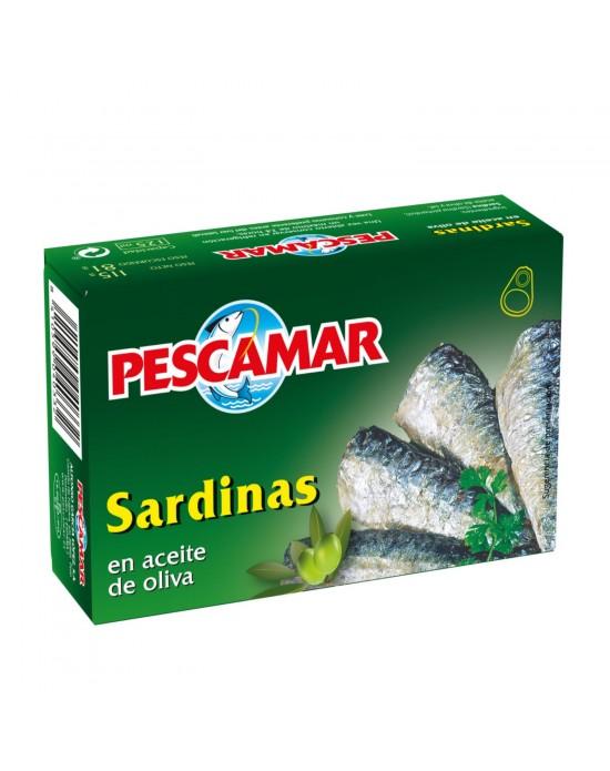 Pescamar Sardina en Aceite de Oliva 110g