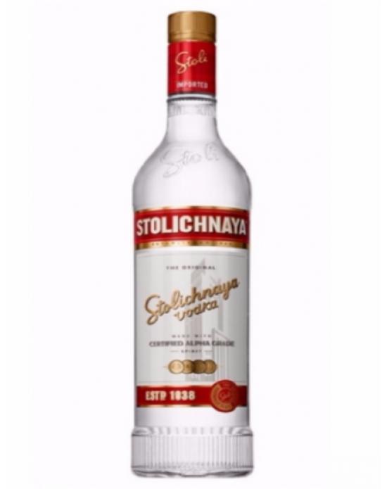 Vodka Stolichnaya Spirit - 750 ml
