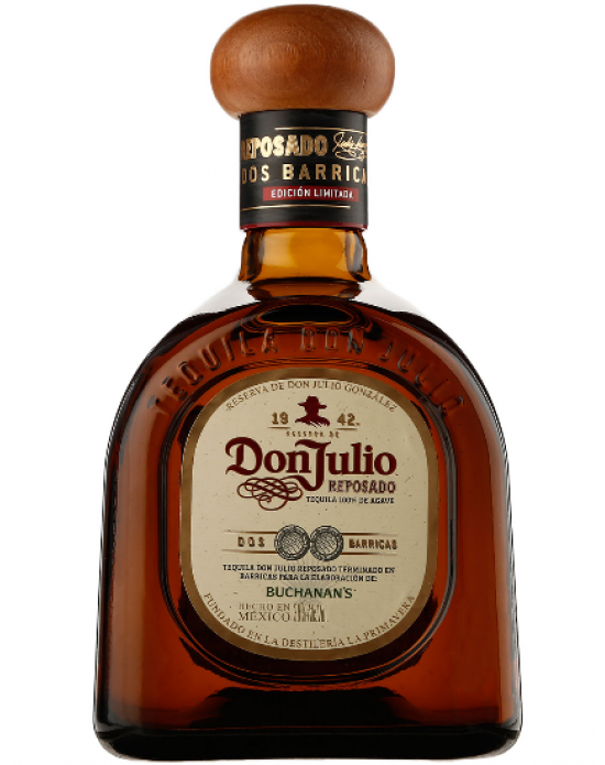 Tequila Don Julio Reposado 2 Barricas 750 Ml
