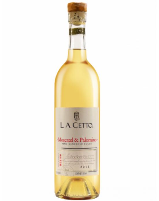 Vino Blanco Generoso L.A. CETTO. Moscatel & Palomino 750 ml.