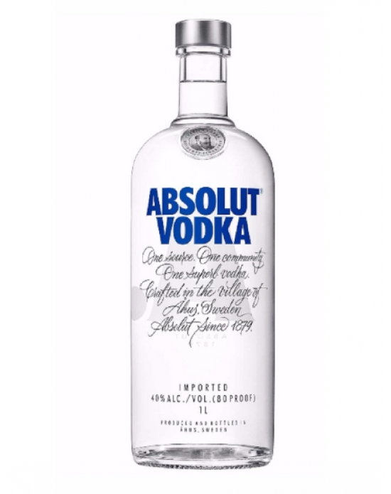 Vodka Absolut Azul - 1 lt
