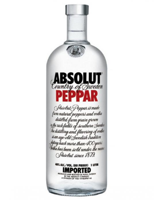 Vodka Absolut Peppar - 750 ml