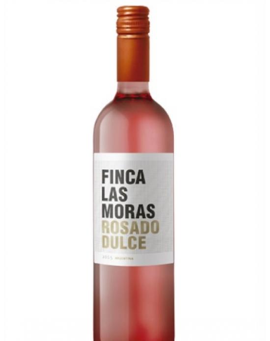 Vino Rosado Finca las moras dulce 750 ml