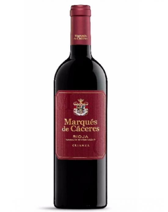 Vino Tinto Marqués de Cáceres Crianza - 750 ml