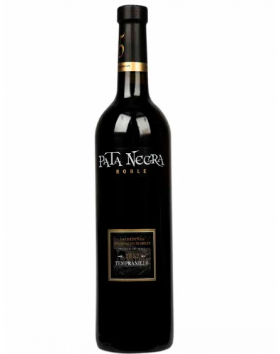 Vino Pata Negra Roble Tempranillo 750 ml