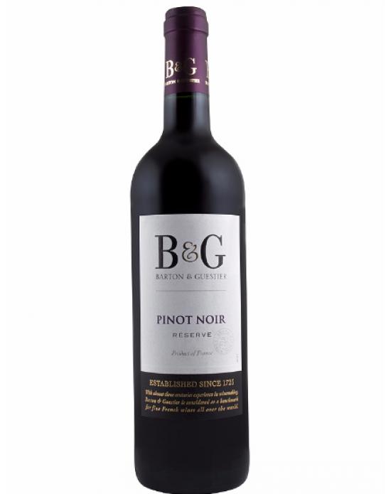 Vino Tinto Pinot Noir Reserva B & G -750 ml