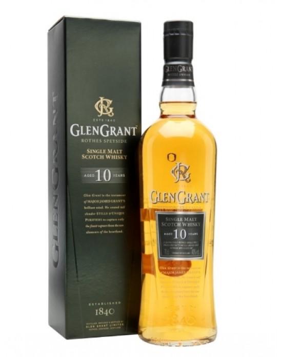 Whisky Glen Grant 10 años Single Malt - 700 ml